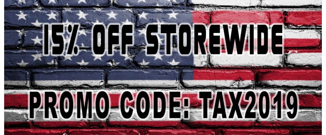 Tax Time Discount