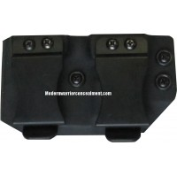 Remington Double Kydex Mag Pouch