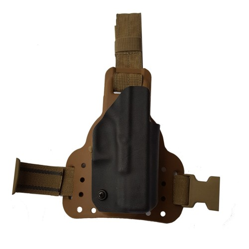 Sphinx G-Code Leg Rig Kydex Holster with Weapons Mounted Light
