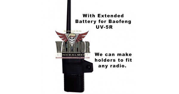Radio Holster Custom Kydex Radio Holster