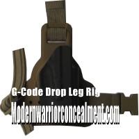 Glock G-Code Leg Rig Kydex Holster W/ Light